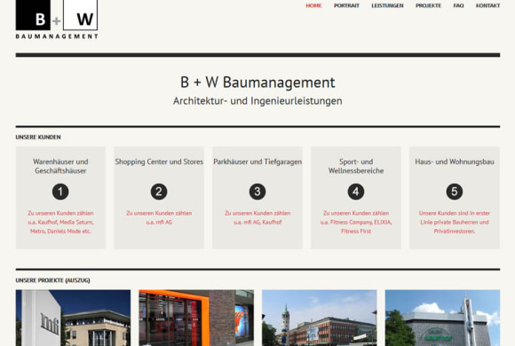 B + W Baumanagement