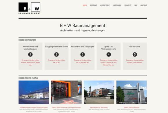 B + W Baumanagement