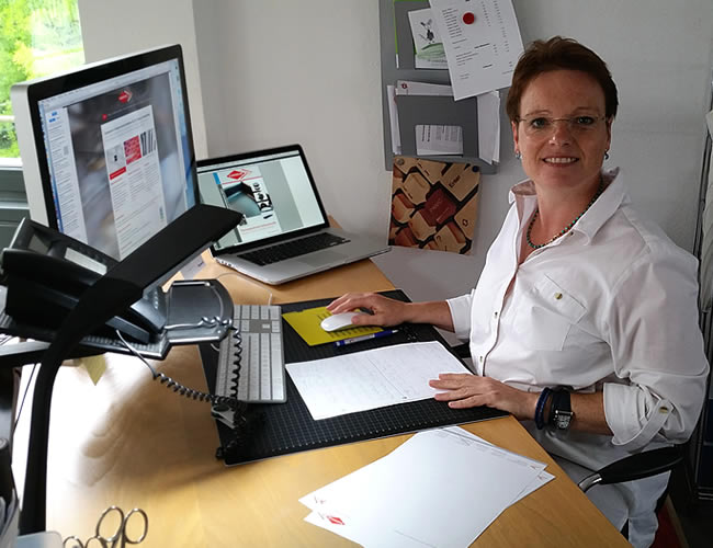 Projekt-Partnerin Kerstin Müller, Grafikdesign, fein{de}sein konzept & grafik
