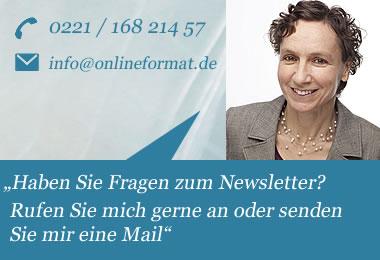 Internetagentur Onlineformat Köln-Mülheim | Michaela Langner